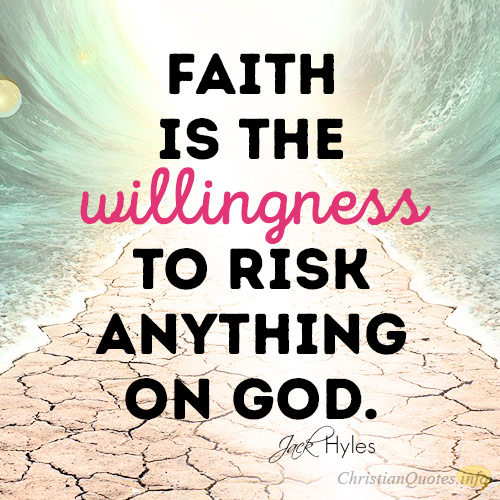 REASONS TO RISK FOR GOD