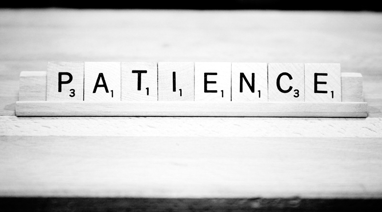 Only One Way to Achieve Patience