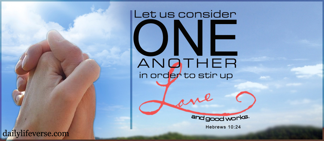Be an Encouragement to One Another