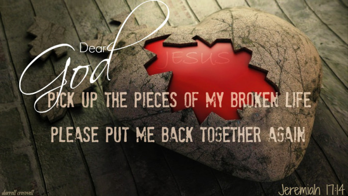 Picking Up the Pieces – Hope and Healing