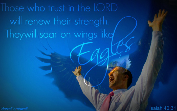 Learning to Fly in Turbulent Times – Isaiah 40:31