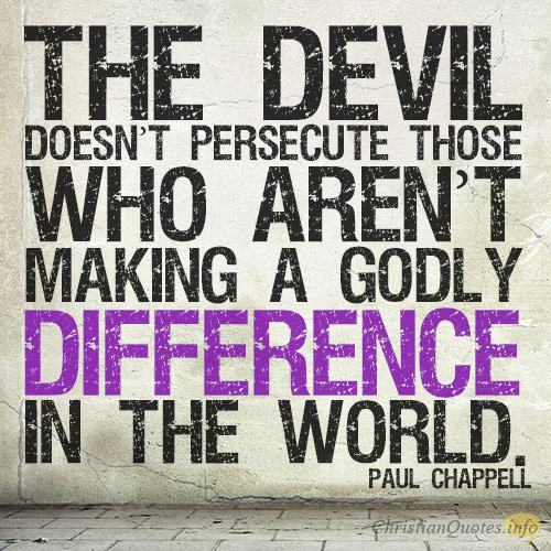 REASONS PERSECUTION IS GOOD