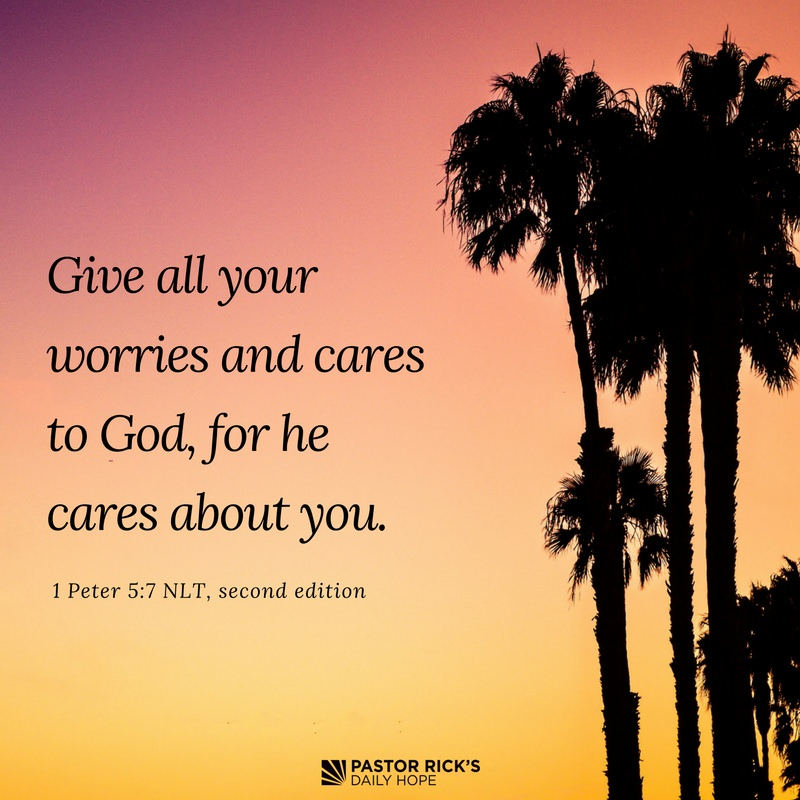 Four Steps to Stop Worry