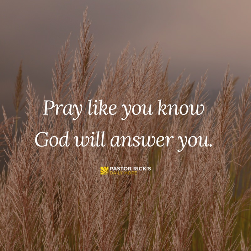 Four Secrets to Answered Prayer