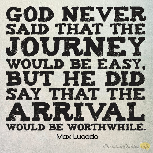 You are on a Journey
