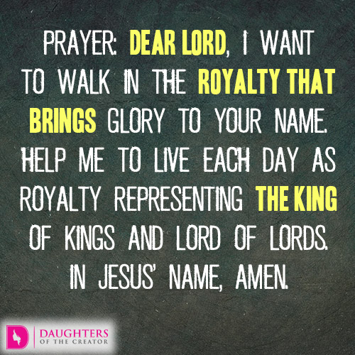 The Royalty in You