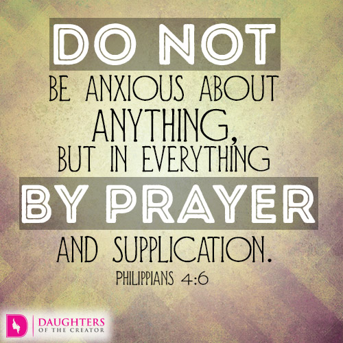 Why Worry When You Can Pray