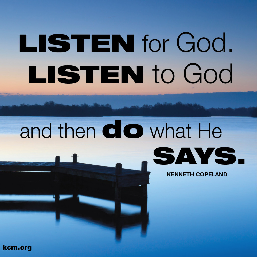 How do we hear from God?