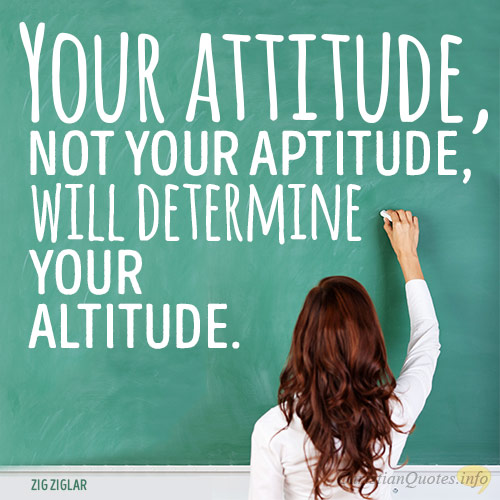 3 REASONS YOU CHOOSE YOUR ATTITUDE