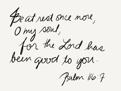 Trusting God Is Good for Your Health