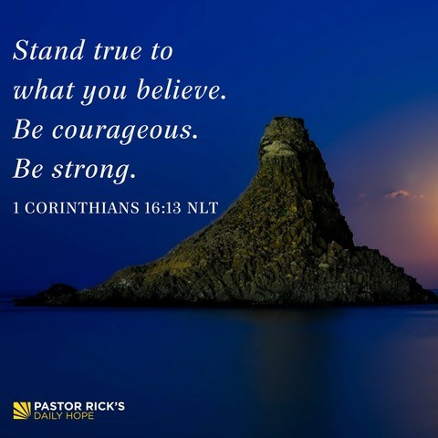 Stand True to What You Believe