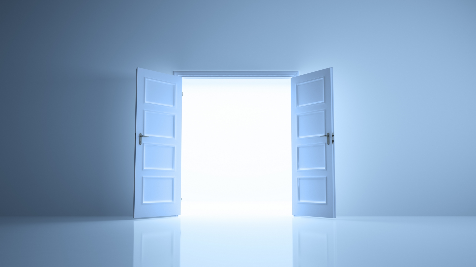 Today Is a Good Day to Open the Door