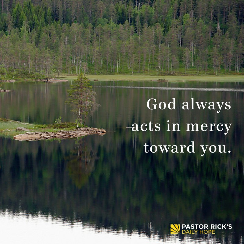 No Matter How Bad You Mess Up, God Will Show Mercy