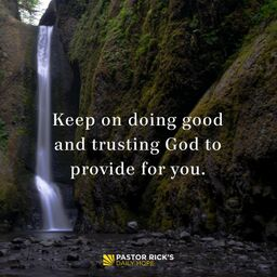 God Is Aware of You and Your Needs