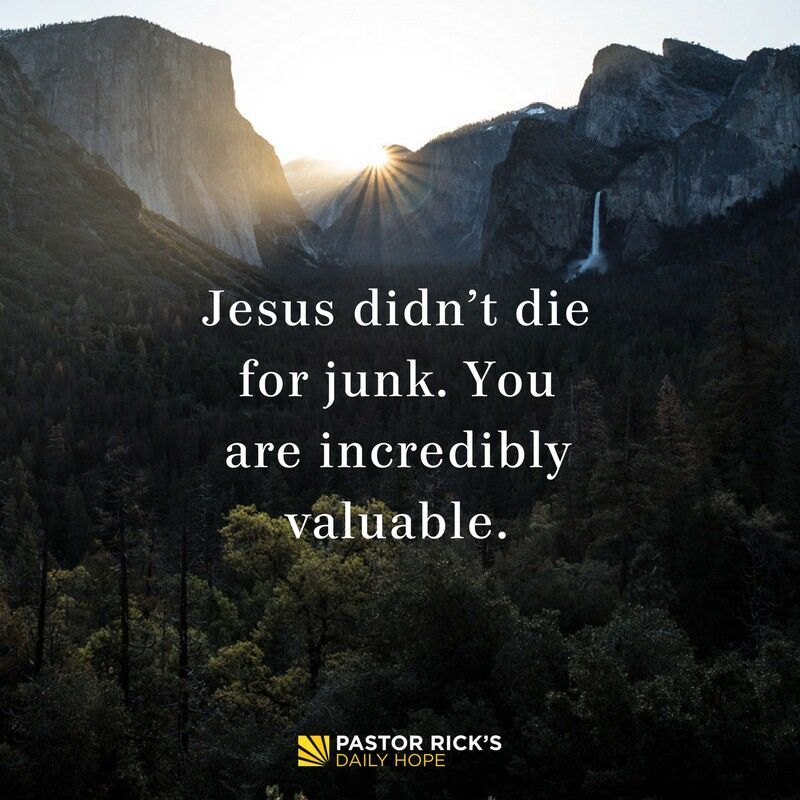 God Says You Are Valuable
