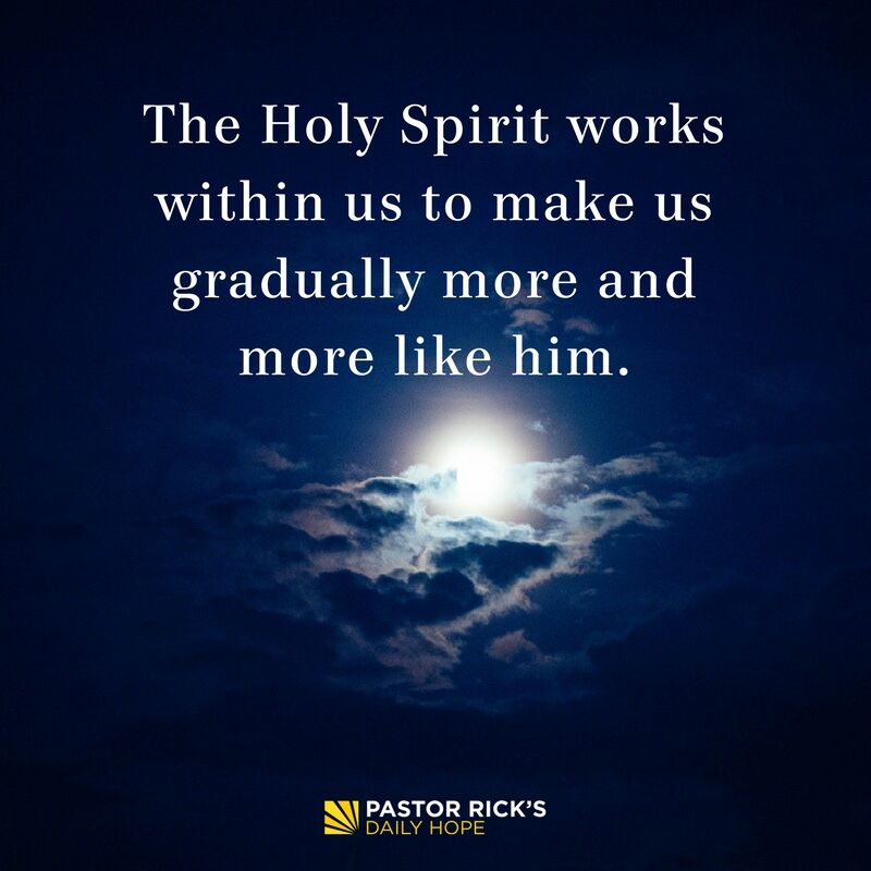 Change Requires the Holy Spirit