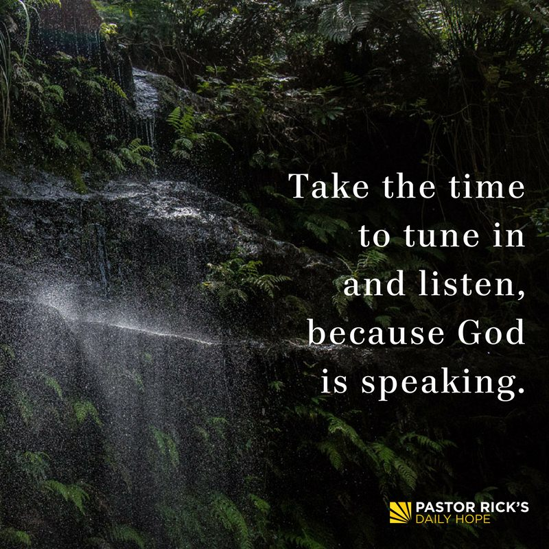 Four Ways God Speaks to You