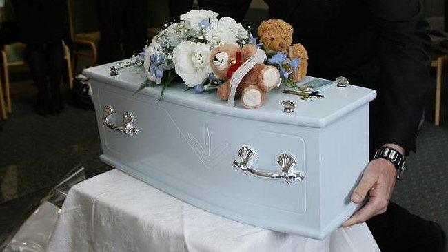 How can Christian parents find comfort after the death of a child?