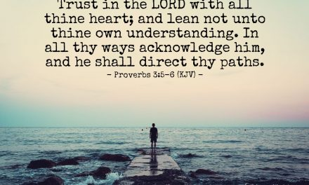 Learn to TRUST in God