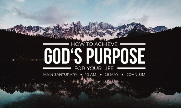 You Are Saved for a Purpose