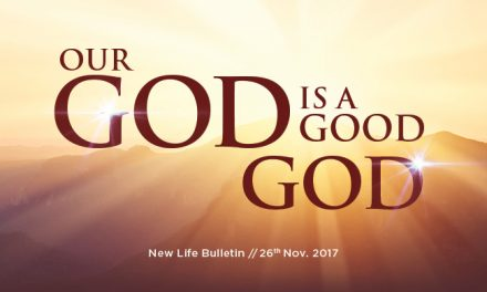 God Is Working All Things for Your Good
