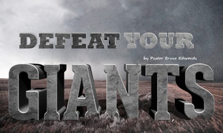 Take Four Steps to Defeat Your Giants
