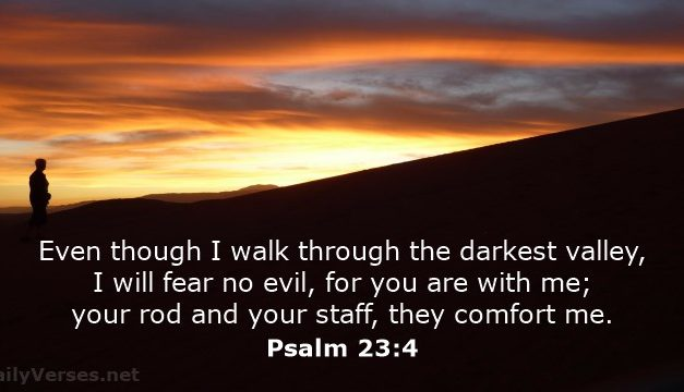 God Is There in Your Darkest Valley