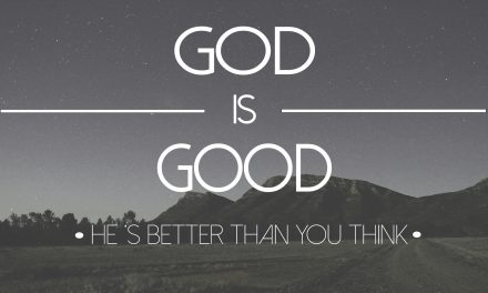 Don't Worry: God Is God, and You Are Not