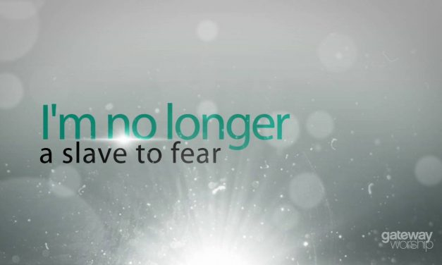 You Don't Have to Live in Fear