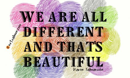 We're All Different. Praise God!