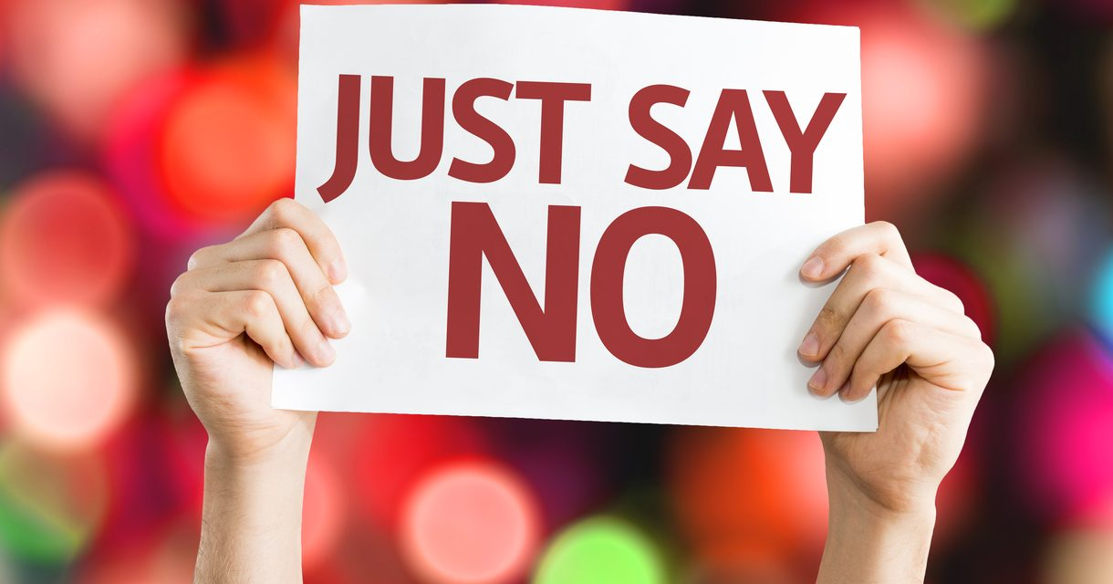 If You Want to Grow, Sometimes You Have to Say 'No'