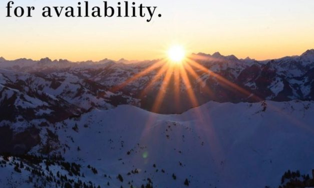 God Is Looking for Availability