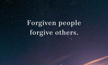 Forgiven People Forgive Others