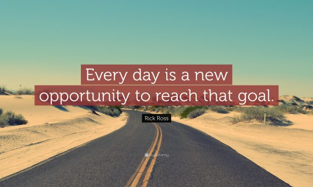 New Day, New Opportunity to Fulfill Your Mission