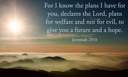 God's Plans Are Better Than My Plans