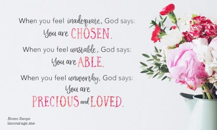 You're Already Chosen and Loved