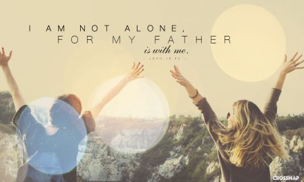 With the Mind of Christ, You'll Never Feel Alone