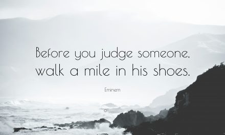 Before You Judge, Listen in Love