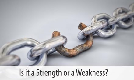 Your Weaknesses Shape Your Witness to the World