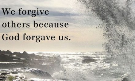 Forgive Because God Forgave You