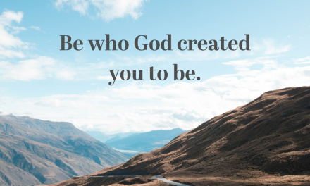 God Made You to Be You