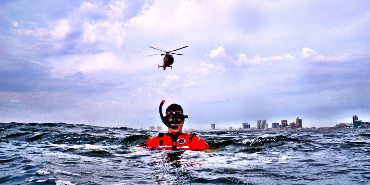 Fighting Our Rescue Swimmer